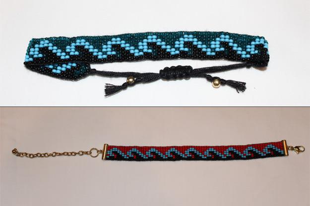 Big Waves Fitness Beaded Bracelet - Multi Color Two Pack